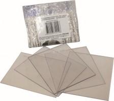 Комплект покровных стекол (110х90) к щитку сварщика