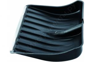 Лопата снегоуборочная пластиковая  460*400 с оцинкованной планкой
