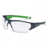 Защитные очки UVEX Ай-воркс, черный/зеленый