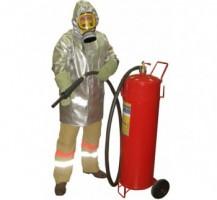 Плащ метализированный комплекта защитной экипировки пожарного-добровольца (КЗЭПД) «Шанс»-Д