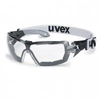 Защитные очки UVEX Феос гард, черный/серый
