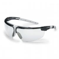 Защитные очки UVEX Ай-3, для нефтегазовой промышленности, черный/светло-серый