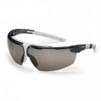 Защитные очки UVEX Ай-3, линза серая, черный/светло-серый
