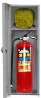 Контейнер для огнетушителя и СИЗ марки «ШАНС» (Контейнер-ОП-4, Огнетушитель, Самоспасатель)