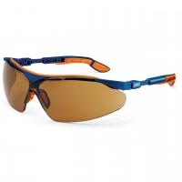 Защитные очки UVEX Ай-во, солнцезащитный фильтр, синий/оранжевый