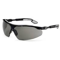 Защитные очки UVEX Ай-во, солнцезащитный фильтр, черный/серый
