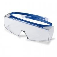 Защитные очки UVEX Супер OTG, защита от запотевания, синий