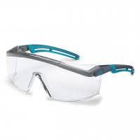 Защитные очкиUVEX Астроспек 2.0, защита от запотевания, черный синий