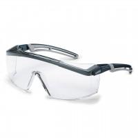 Защитные очки UVEX Астроспек 2.0, черный/серый