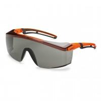 Защитные очки UVEX Астроспек 2.0, солнцезащитный фильтр, оранжевый/черный