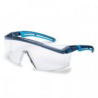 Защитные очки UVEX Астроспек 2.0, синий/голубой