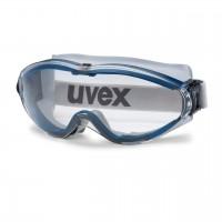 Защитные очки UVEX Ультрасоник, синий/серый