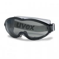 Защитные очки UVEX Ультрасоник, солнцезащитный фильтр, черный/серый