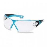 Защитные очки UVEX Феос сх2, черный/голубой