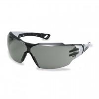 Защитные очки UVEX Феос сх2, серая линза, черный/белый