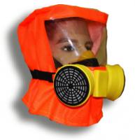 Самоспасатель Шанс-Е с фильтрами ФСЭ-С полумаска