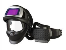 Сварочный щиток Speedglas® 9100 FX AIR с новым блоком AdfloTM с литий-ионной батареей