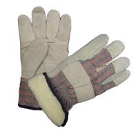 Перчатки АНГАРА - спилковые, утепленные