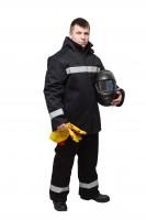 Костюм сварщика мужской зимний КСв 129W 1 класс защиты