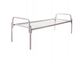 Кровать одноярусная металлическая