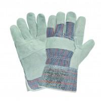 Перчатки АНГАРА - спилковые, комбинированные