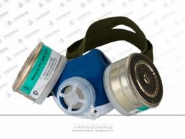 Респиратор фильтрующий противогазоаэрозольный РУ - 60М  (фильтр металлический)