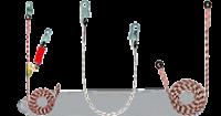 Зажимы и гибкие анкерные линии (веревки) Венто