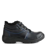 Ботинки литьевые кожаные ПУ утепленные