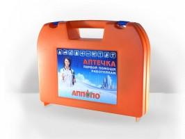 Аптечка первой помощи работникам «АППОЛО» приказ №169н  (пласт. чемоданчик)