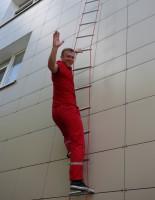 Лестница навесная спасательная пожарная