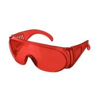 Очки защитные открытые РИМ (тип Люцерна) красные