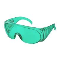 Очки защитные открытые РИМ (тип Люцерна) зеленые