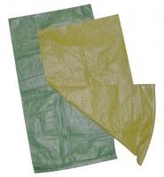 Мешок полипропиленовый зеленый 70х120 см