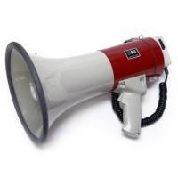 MG-220/red мегафон 25Вт, выносной микрофон