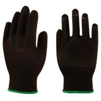 Перчатки Микрон Блэк ПВХ TNG-28