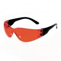 Очки защитные открытые РИМ (тип Классик Тим) красные