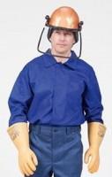 Куртка-рубашка для защиты от электрической дуги Рт 640W-2, 13 кал/см2