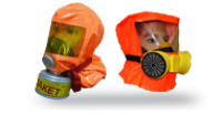 Самоспасатели при пожаре