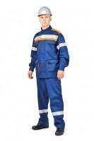 Костюм летний для защиты от электрической дуги СП011-ЛII, 14 кал/см2