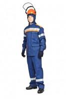 Комплект летний для защиты от электрической дуги СП03-Л V (куртка, брюки), + термостойкое белье, 42 кал/см2