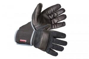 Перчатки Вибростат® 01 антивибрационные кожаные чёрные
